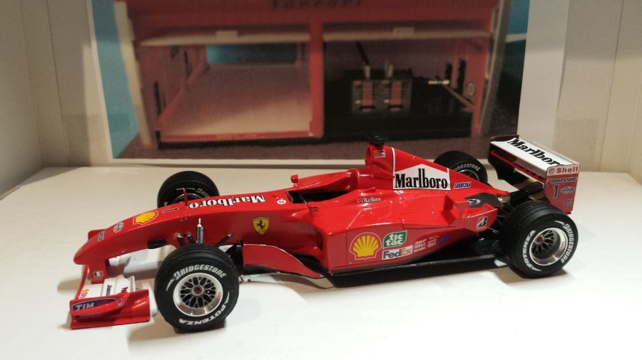 ferrari f2001 michael schumacher - photo #19